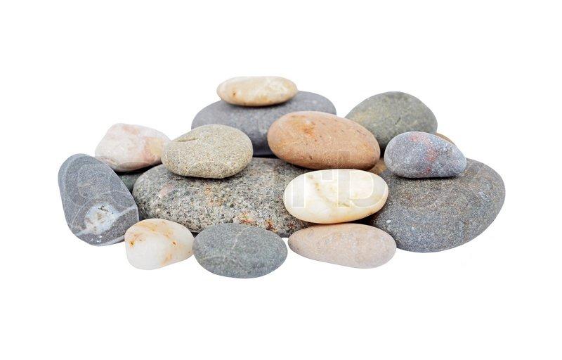 Clip Art Pile of Pebbles.