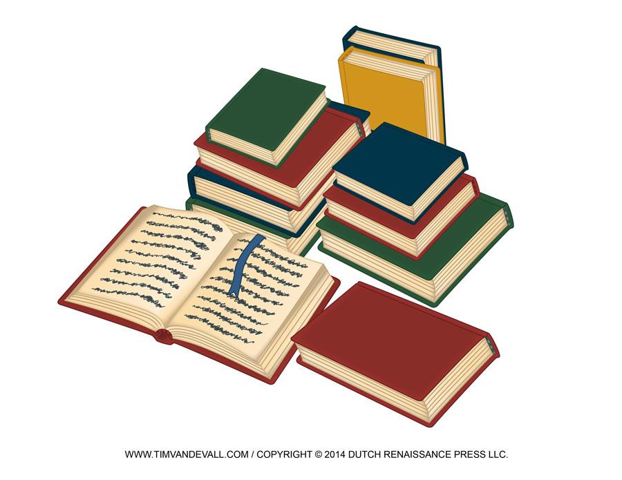 Pile Of Books Clip Art.