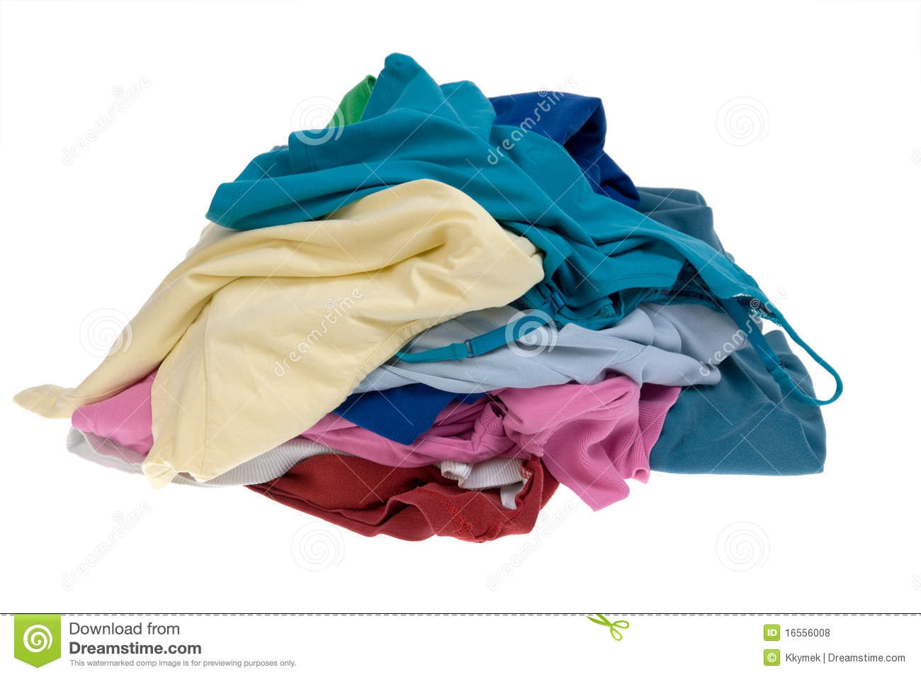 Pile Of Clothes Clipart#2131109.