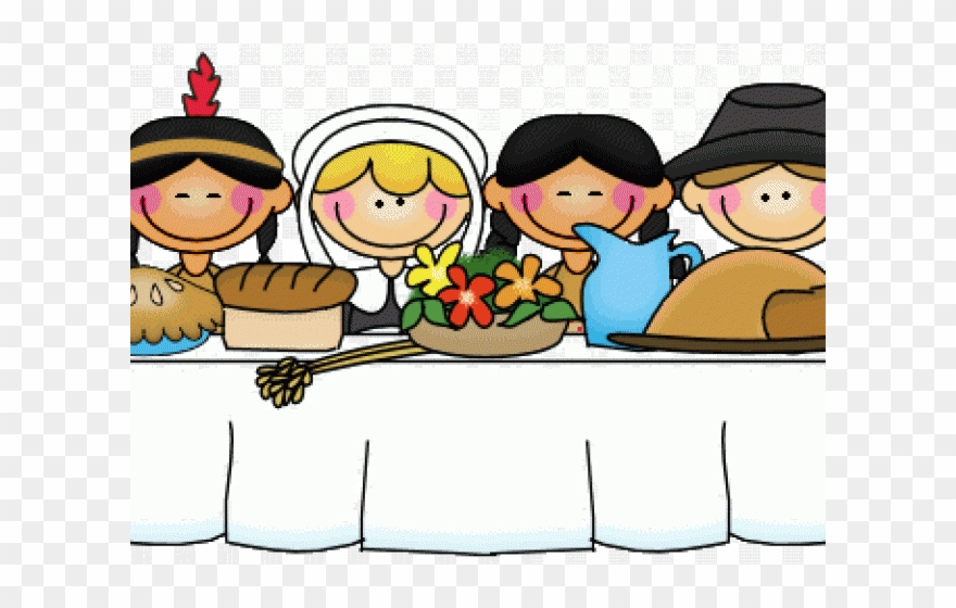 Native American Clipart Feast.