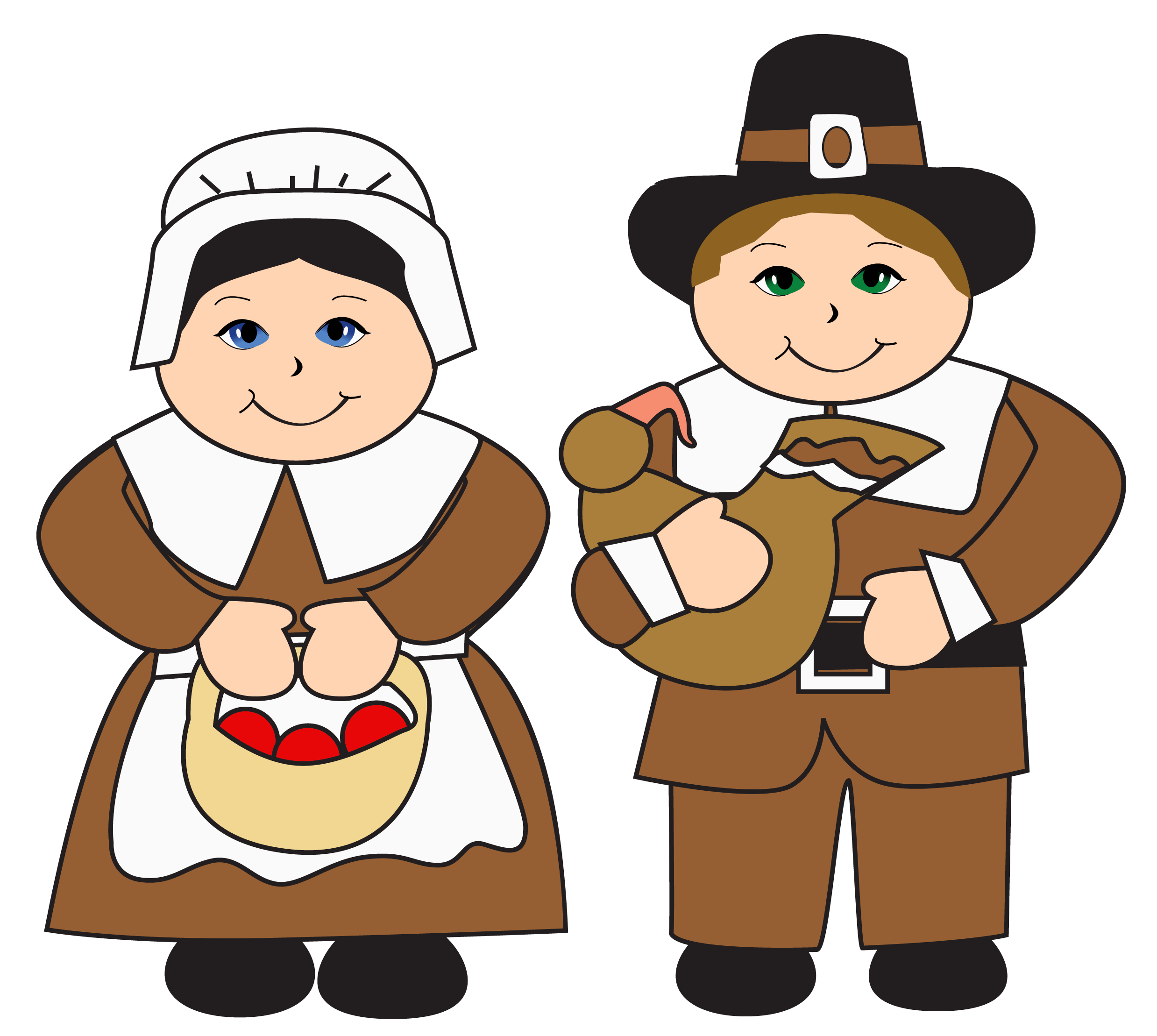 Free Pilgrims Thanksgiving Cliparts, Download Free Clip Art.