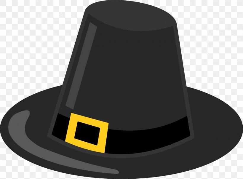 Thanksgiving Pilgrim\'s Hat Clip Art, PNG, 2400x1770px.