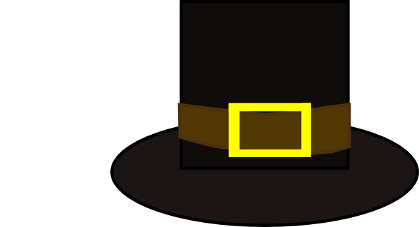 Pilgrim Hat Clip Art at Clker.com.