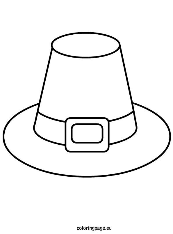 Pilgrim Hat template.