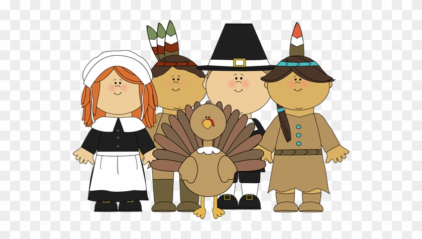 Pilgrims Thanksgiving Cliparts.