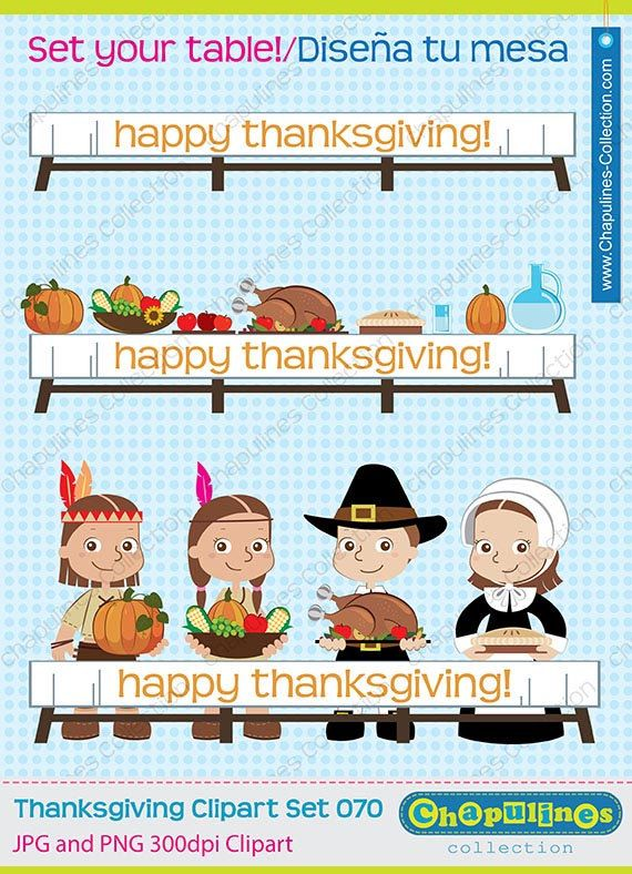 Thanksgiving clipart, pilgrims clipart, native americans clipart.
