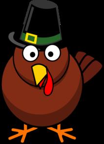 Turkey With Pilgrim Hat Clip Art at Clker.com.
