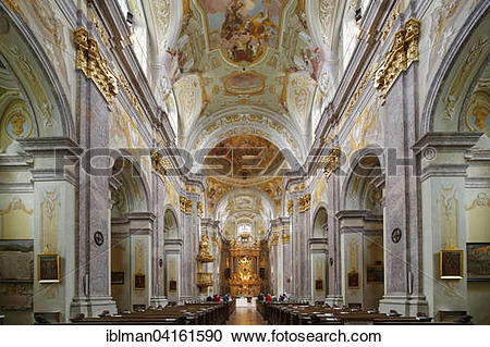 Stock Photography of Sonntagberg Basilica, Holy Trinity and St.
