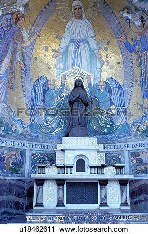 Stock Photography of France, Lourdes, pilgrim, Hautes.