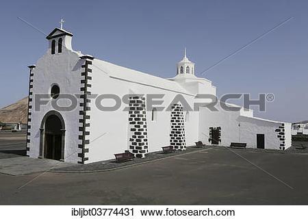 """Stock Photography of """"Pilgrimage chapel Ermita de los Dolores or."""