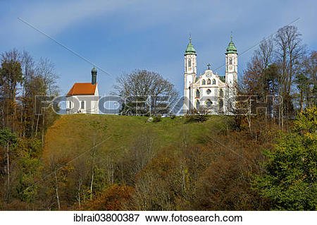 """Picture of """"Leonhardskapelle chapel and Heilig."""