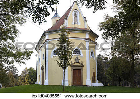 Stock Photography of Chapel of St. Anthony, pilgrimage church.