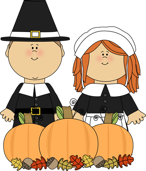 Thanksgiving Pilgrim Clipart.