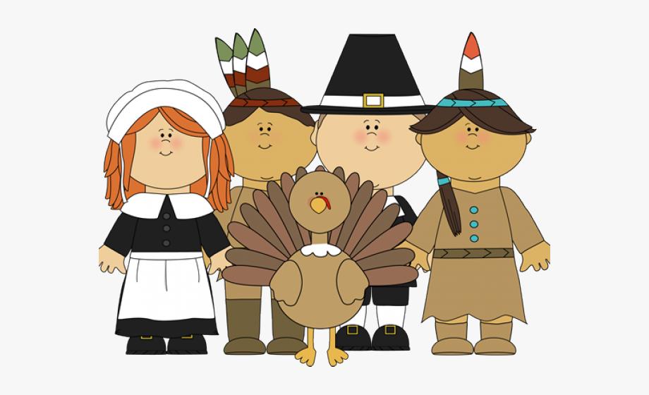 Indians Clipart Pilgrams.