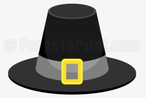 Free Pilgrim Hat Clip Art with No Background.