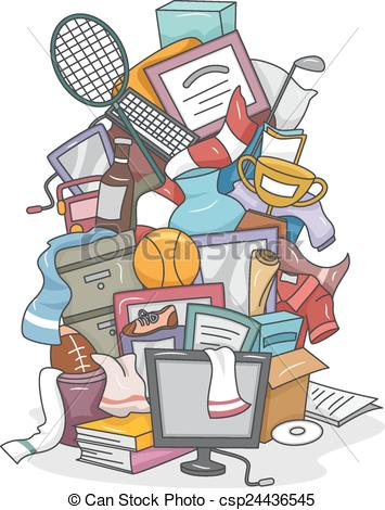 Pile Of Stuff Clipart.