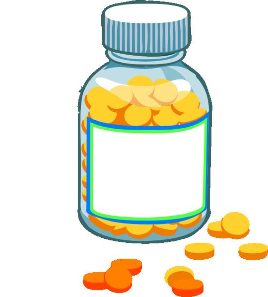 Clipart pills.