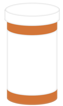 Empty Pill Bottle Clipart.