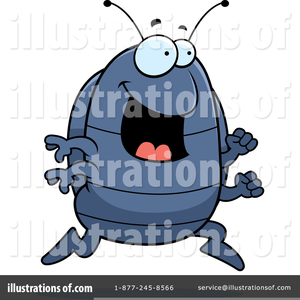 Free Clipart Pill Bug.