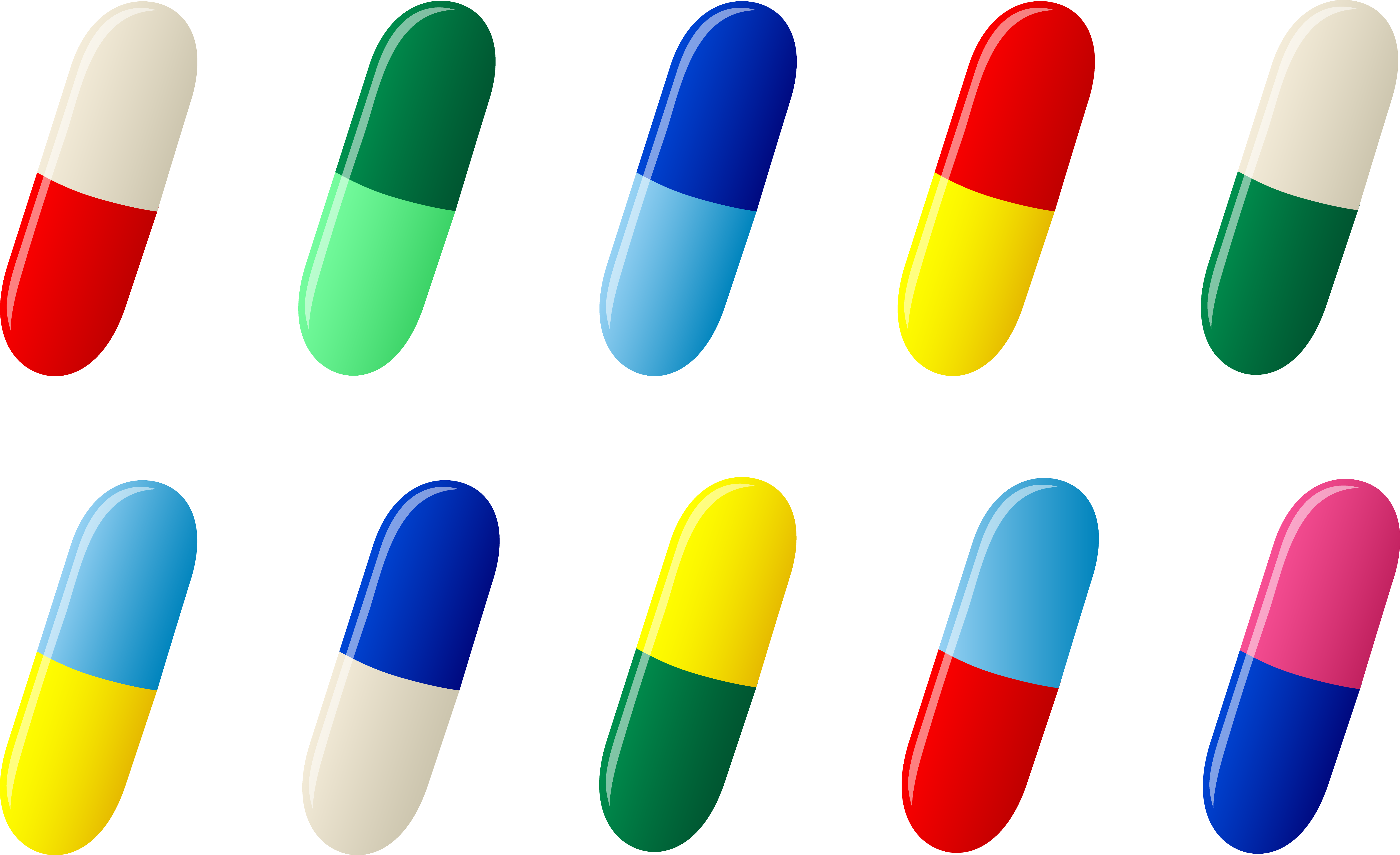 Pill clipart free.