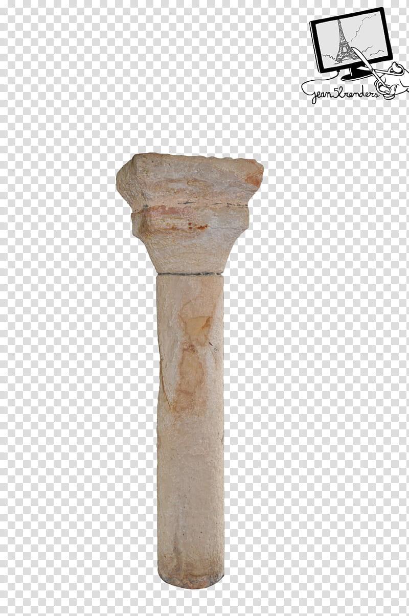 Pilier , white concrete pillar transparent background PNG.