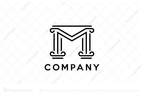 Exclusive Logo 183563, M Pillar Logo.