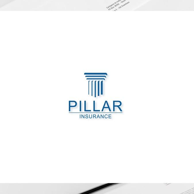 Create an appealing logo for Pillar Insurance.