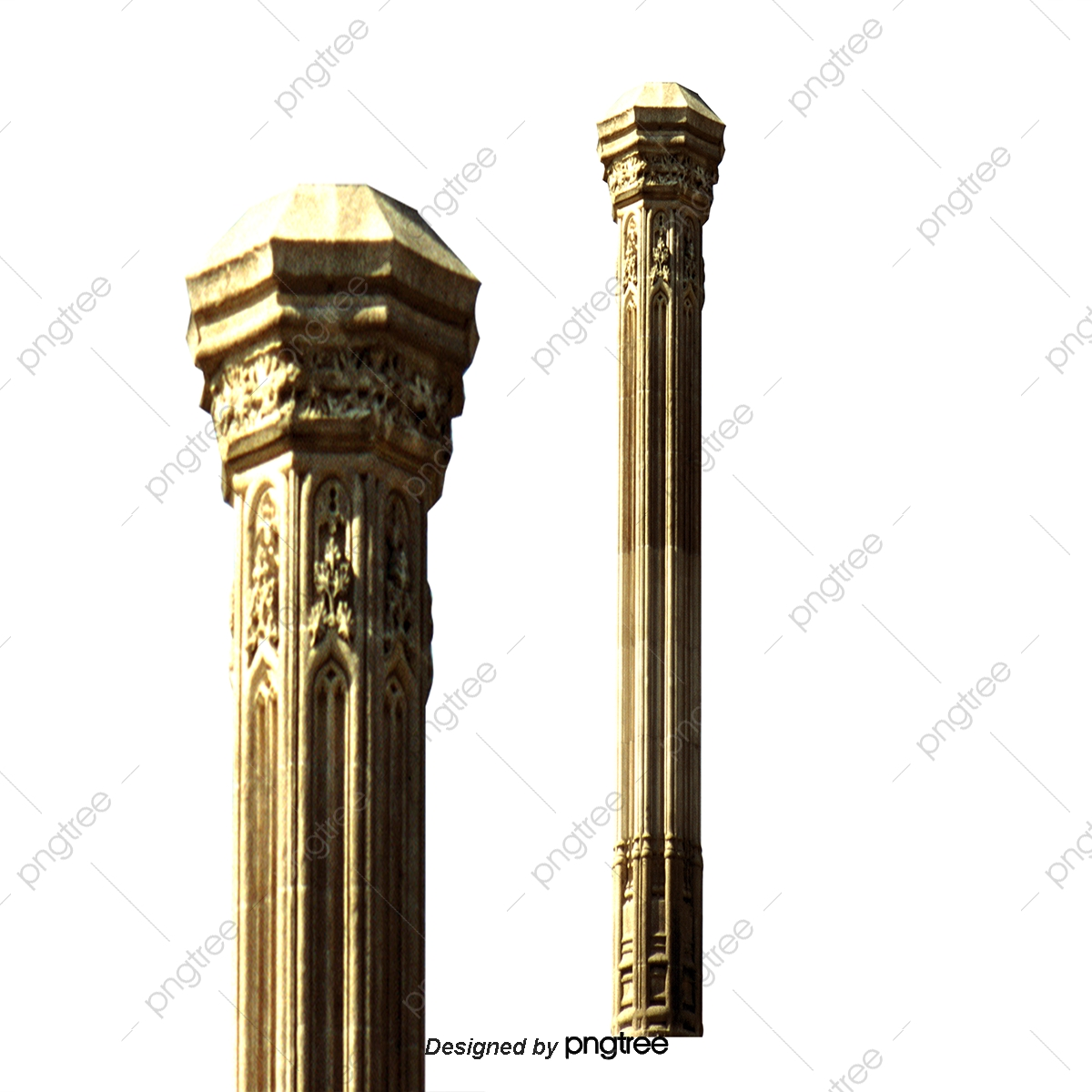 Pattern Pillars, Pillar, Vector Column PNG and Vector with.
