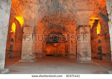 Diocletian Palace Stock Photos, Royalty.
