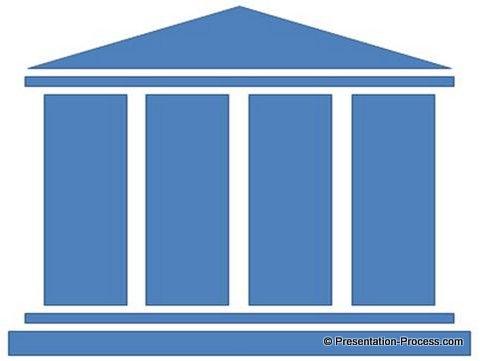 Draw PowerPoint Pillar in 3 easy steps.