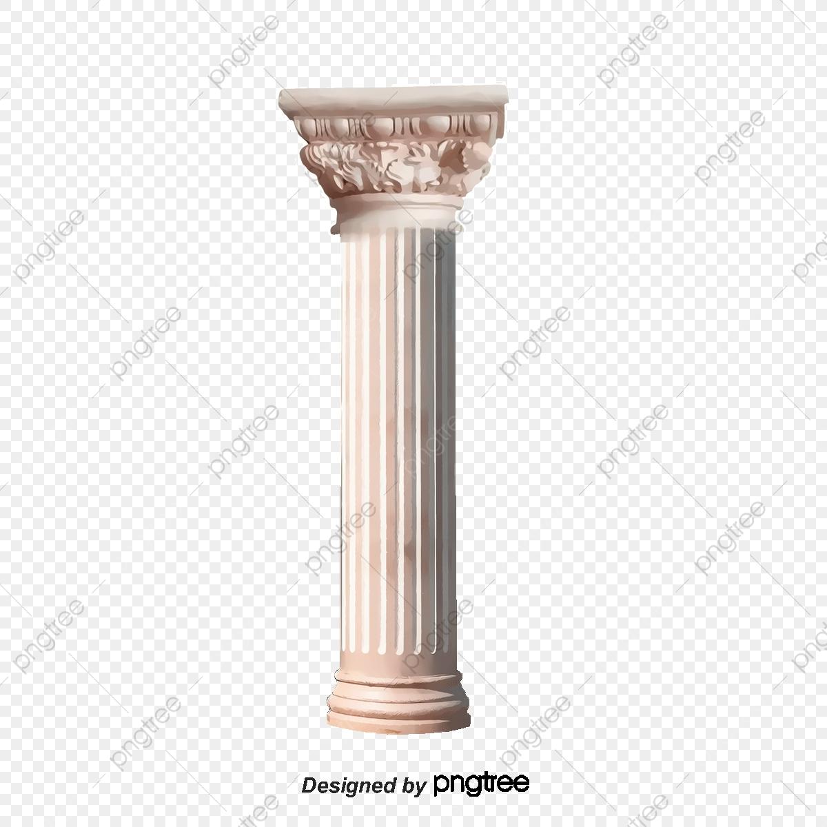 Pattern Pillars, Pattern, Pillar, Cream PNG Transparent.