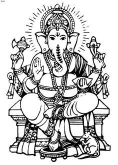 Ganesh Drawing Outline at GetDrawings.com.