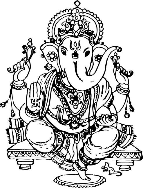 Vinayagar God Clipart.