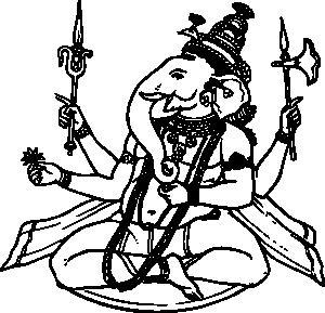 Ganesh Clip Art at Clker.com.