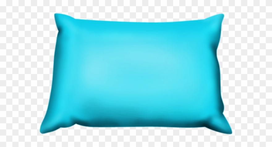 Cushion Clipart Blue Pillow.