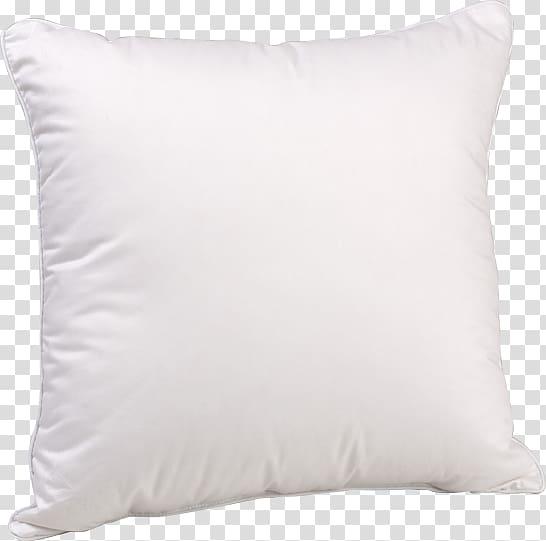 Throw pillow Cushion Bedding, White pillow transparent.
