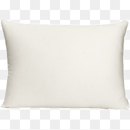 Pillow, White, Pillow, Household Items P #34497.