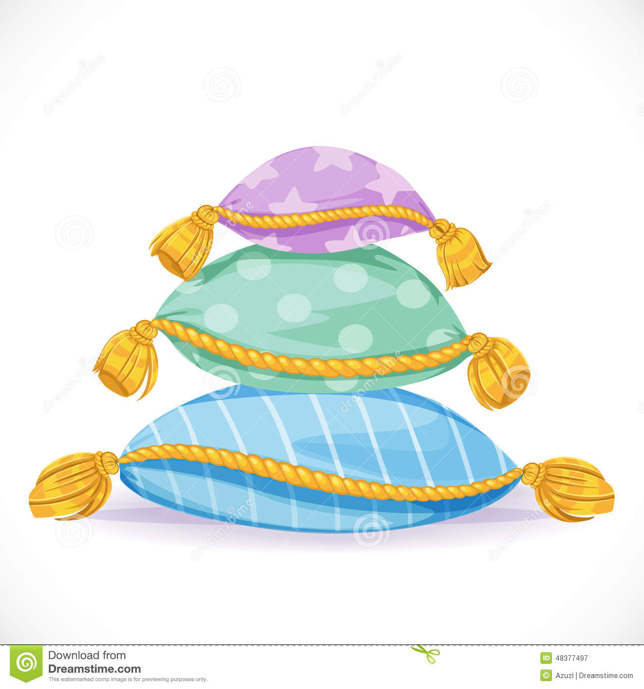 Pillow Stack Clipart