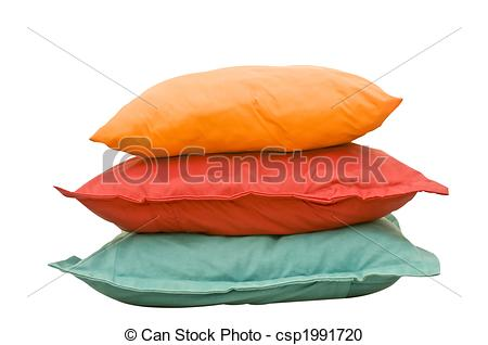 Stock Photography of Colorful Pillows.