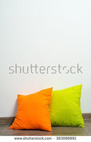 Throw Pillow Stock Photos, Royalty.