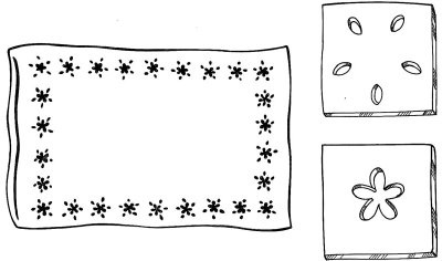 Pillowcase Clipart.