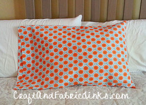 Free Pillowcase Pattern Standard, Queen and King Sewing Pattern.