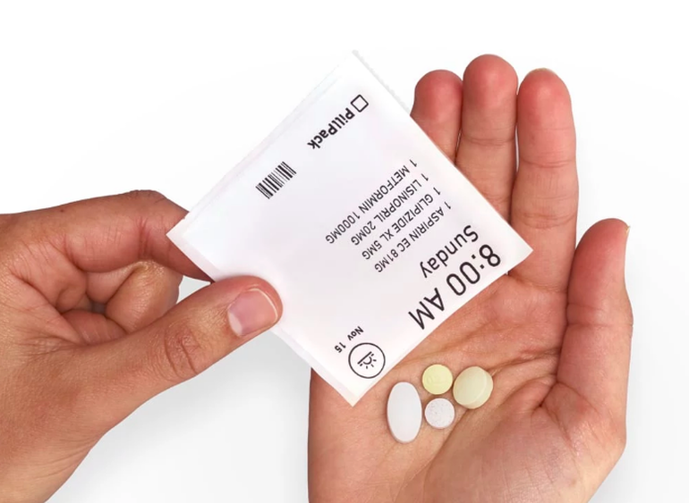 Amazon buys prescription delivery startup PillPack.