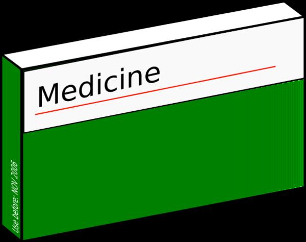 Pill Box Clipart.