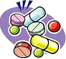 Free Medication and Pills Clipart.