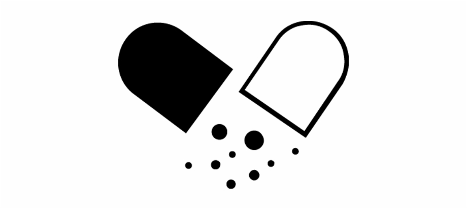 Free Pill Clipart Black And White, Download Free Clip Art.