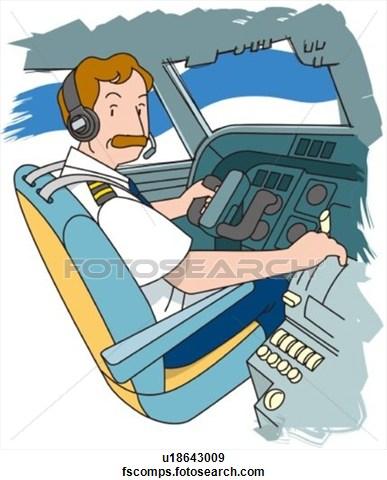 Pilot Clipart Page 1.