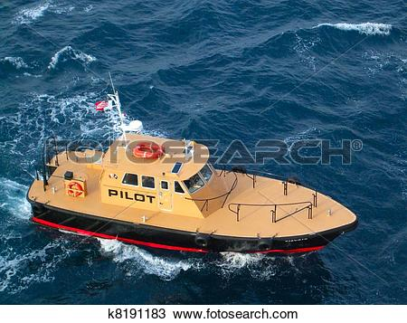 Stock Photo of Pilot Boat k8191183.