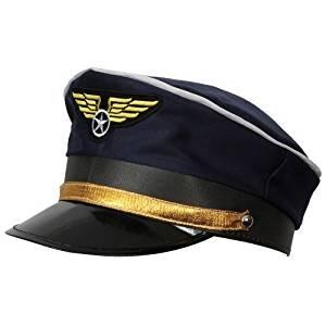Airline Pilot Hat Accessory for Airline Pilot Fancy Dress.