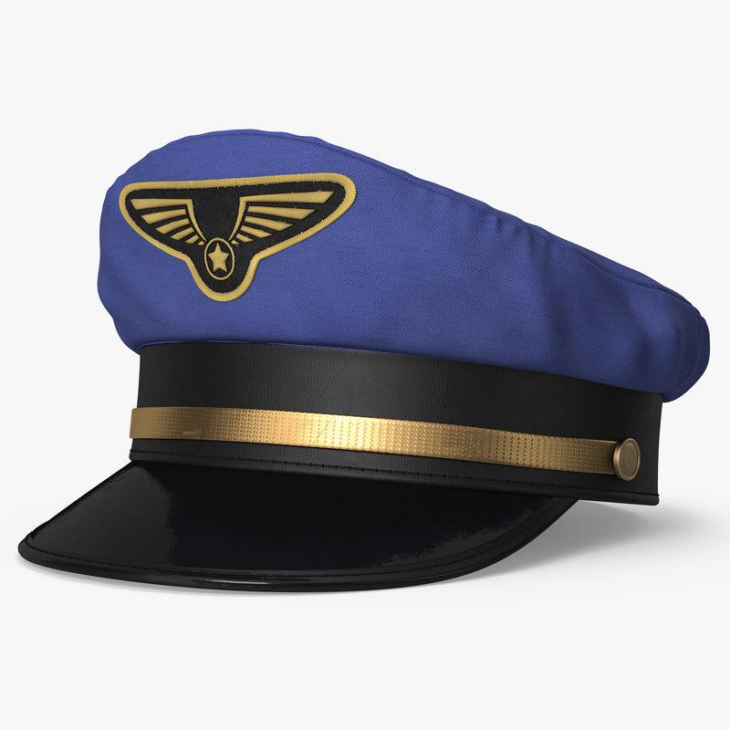 Pilot Hat.